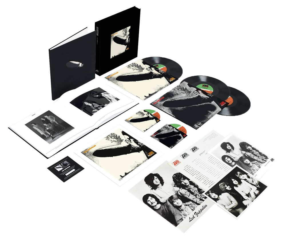 Led Zeppelin I Numbered Limited Edition Super Deluxe 180g