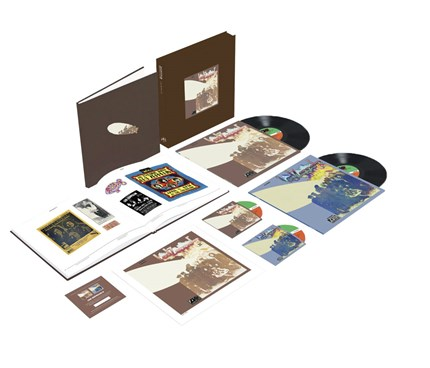 Led Zeppelin II Numbered Limited Edition Super Deluxe 180g 2LP & 2CD Box Set Atlantic WEA