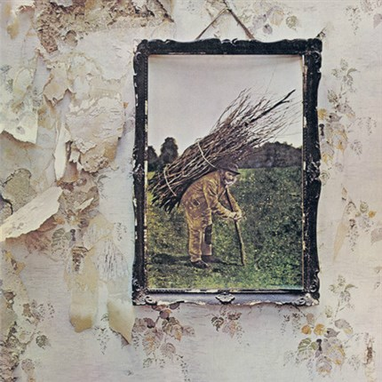 Led Zeppelin IV 180g LP Atlantic WEA