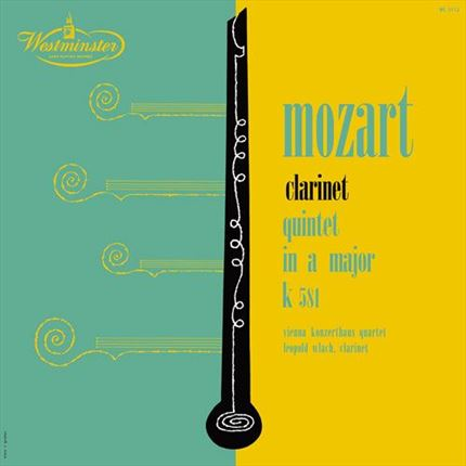 Leopold Wlach Mozart Clarinet Quintet in A Major ANALOGPHONIC 180g  LP