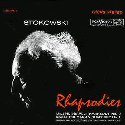 Liszt, Enescu,  Smetana Stokowski Rhapsodies RCA-ANALOGUE PRODUCTIONS 200g 45rpm 2LP