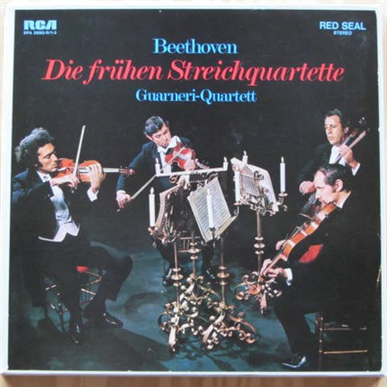 Beethoven Early Quartets Guarneri Quartett: Arnhold Steinhardt, John Dalley, Michael Tree, David Soyer RCA