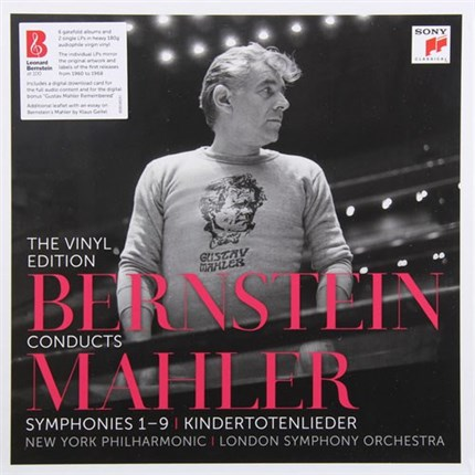 Mahler Bernstein Conducts Mahler: The Vinyl Edition 180g 15LP SONY
