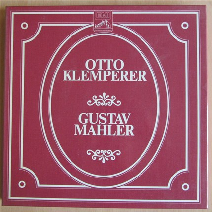 Mahler Symphonies 2, 4, 79 and Lied von Erde New Philharmonia Orchestra Otto Klemperer EMI