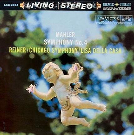 Mahler Symphony No.4 Fritz Reiner RCA Living STEREO ANALOGUE PRODUCTIONS LP 200 gr
