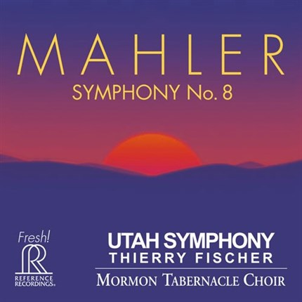 Mahler Symphony No. 8 Utah Symphony Thierry Fischer Hybrid Multi-Channel & Stereo 2SACD REFERENCE RECORDINGS