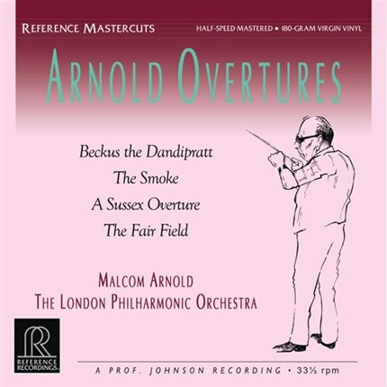 Malcolm Arnold Arnold Overtures Half-Speed Mastered REFERENCE RECORDINGS180g LP