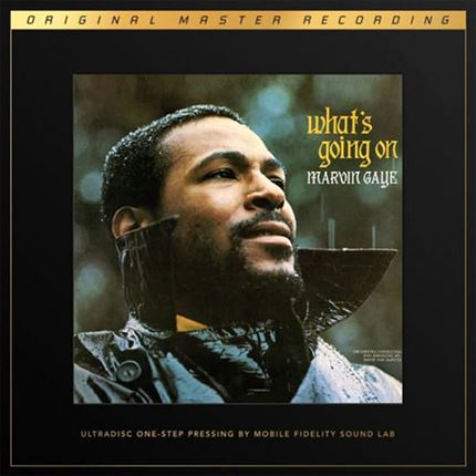 Marvin Gaye What's Going On MOBILE FIDELITY Numbered Limited Edition 180g 45rpm SuperVinyl 2LP Box Set