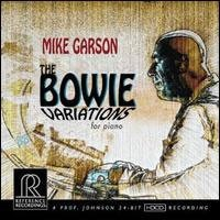 MIKE GARSON THE BOWIE VARIATIONS FOR PIANO REFERENCE RECORDINGS