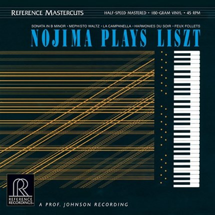 Minoru Nojima Nojima Plays Liszt REFERENCE RECORDINGS Half-Speed Mastered 45rpm 180g 2LP