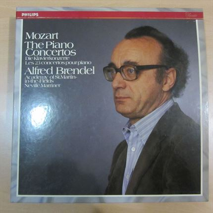 Mozart 23 Piano Concertos Alfred Brendel Academy of St. Martin-in-the-Fields Neville Marriner PHILIPS