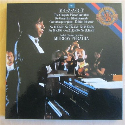 Mozart Conciertos para piano 16-21 Murray Perahia English Chamber Orchestra CBS