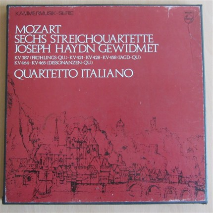 Mozart Haydn Quartette Quartetto Italiano PHILIPS