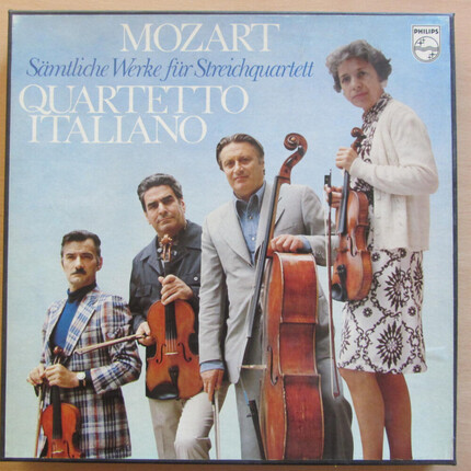 Mozart Complete Works for String Quartet Quartetto Italiano PHILIPS