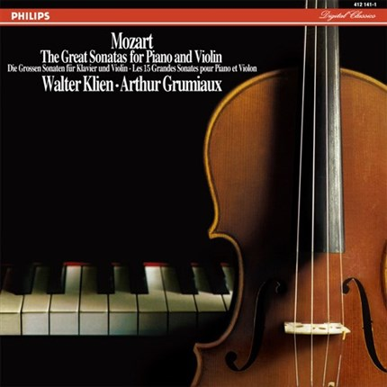 Mozart The great sonatas for violin and piano GRUMIAUX & KLIEN ANALOGPHONIC
