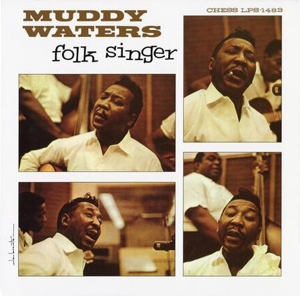 Impresionante edición de Muddy Waters Folk Singer 180g 45rpm 2LP ANALOGUE PRODUCTIONS