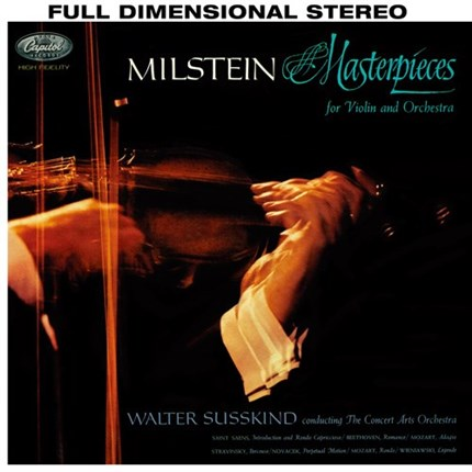 Nathan Milstein Masterpieces For Violin And Orchestra ANALOGPHONIC 180g