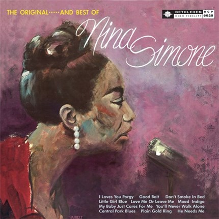 Nina Simone Little Girl Blue: The Original And Best Of Nina Simone Pure Pleasure 180g LP (Mono)