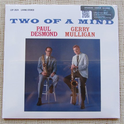 Two Of A Mind - Gerry Mulligan (bs); Paul Desmond (as); Joe Benjamin, John Beal, Wendell Marshall (b); Connie Kay, Mel Lewis (dr) RCA