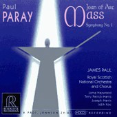 PAUL PARAY Joan of Arc Mass, etc... REFERENCE RECORDINGS
