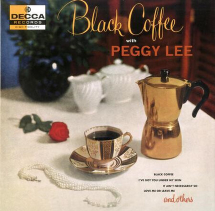 Fantástica edición Peggy Lee Black Coffee (Verve Acoustic Sounds Series) 180g LP