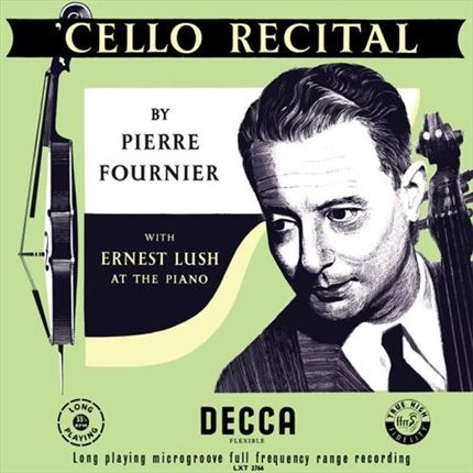 Pierre Fournier Cello Recital ANALOGPHONIC 180g LP