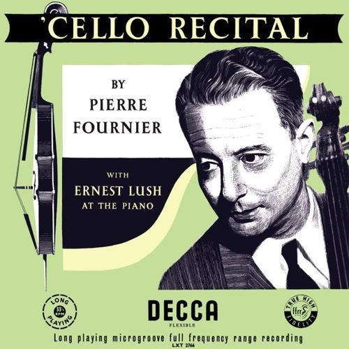 Pierre Fournier Cello Recital