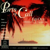 Ports of call: Ibert, Tchaikovsky, Chabrier, Smetana, Sibelius  Minnesota Orchestra Eiji Oue REFERENCE RECORDINGS