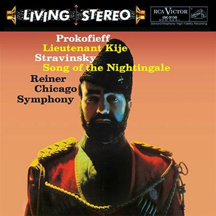 Prokofiev: Lieutenant Kije/ Stravinsky: Song of the Nightingale Fritz Reiner Chicago Symphony Orchestra RCA