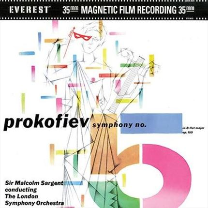 Prokofiev Symphony No. 5 ANALOGUE PRODUCTIONS200g 45rpm 2LP
