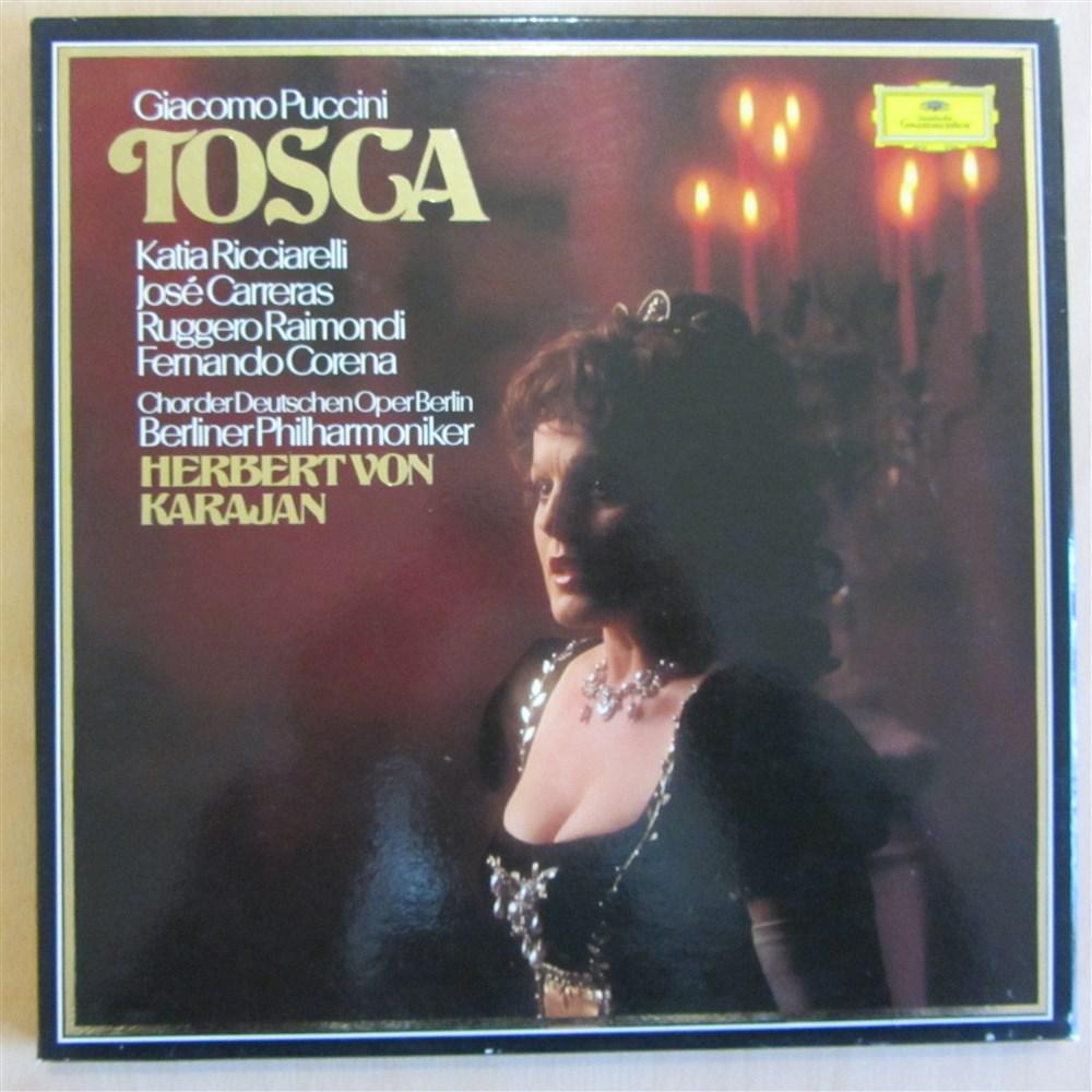 Puccini Tosca Ricciarelli Carreras Berlin Philharmonic