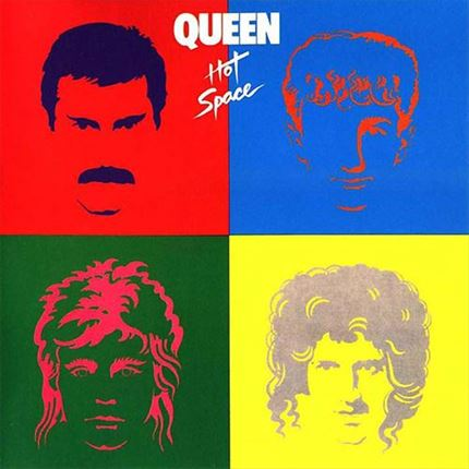 Queen Hot Space Half-Speed Mastered 180g LP UNIVERSAL