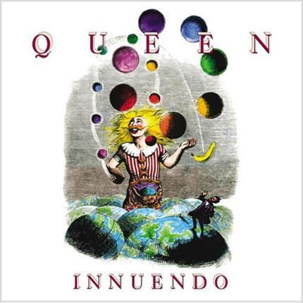 Queen Innuendo Half-Speed Mastered 180g LP UNIVERSAL