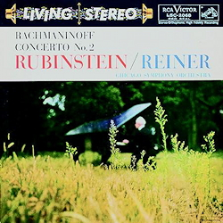 Rachmaninoff Concerto No. 2 (Rubinstein/Reiner) RCA Living Stereo ANALOGUE PRODUCTIONS LP