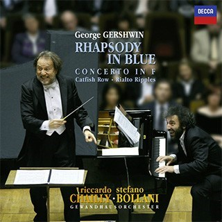 GERSHWINChailly  Bollani  RHAPSODY IN BLUE FONE RECORDS