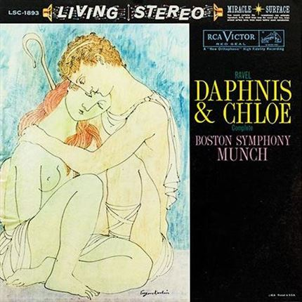 Maurice Ravel Daphnis And Chloe Boston Symphony Orchestra Charles Munch RCA ANALOGUE PRODUCTIONS