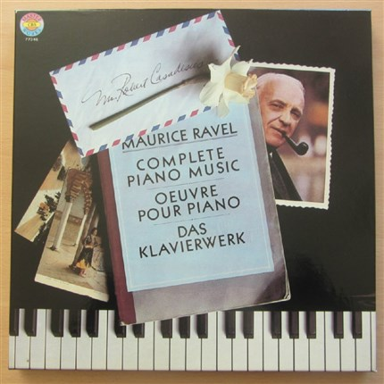RAVEL Piano Works Robert Casadesus CBS