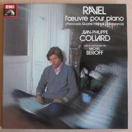 Ravel Complete solo piano works Jean-Philippe Collard EMI