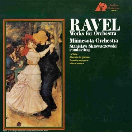 Ravel Works For Orchestra ANALOGUE PRODUCTIONS 180g LP