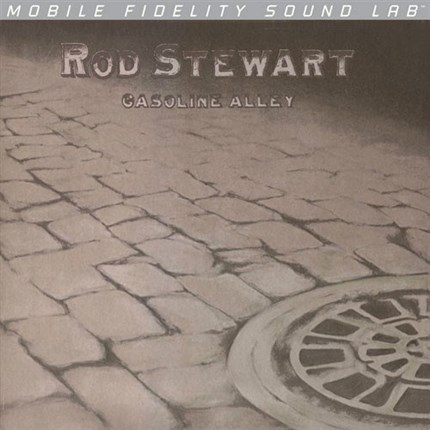 Rod Stewart Gasoline Alley Numbered Limited Edition LP MOBILE FIDELITY