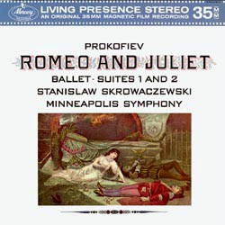 Sergey Prokofjev: Romeo and Julia orchestral suites Nos. 1 & 2 - The Minneapolis Symphony Orchestra conducted by Stanislaw Skrowacziewski MERCURY