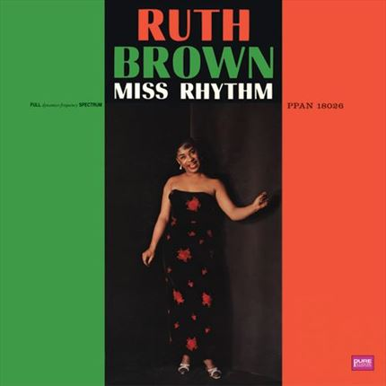 Ruth Brown Miss Rhythm Pure Pleasure 180g LP