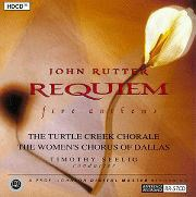 Rutter: Requiem and Five Anthems TurtleCreek Chorale Seeling REFERENCE RECORDINGS