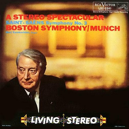 Saint-Saens Symphony No. 3 Charles Munch RCA LIVING STEREO ANALOGUE PRODUCTIONS
