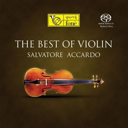 SALVATORE ACCARDO - BEST OF VIOLIN (SACD) FONE