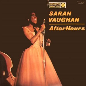 Sarah Vaughan After Hours PURE PLEASURE 180g LP