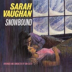 Sarah Vaughan Snowbound PURE PLEASURE 180g LP