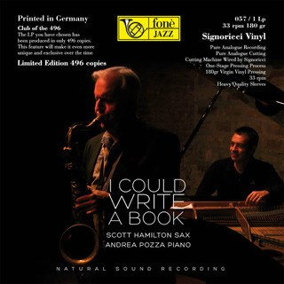 Scott Hamilton/Andrea Pozza I COULD WRITE A BOOK FONE