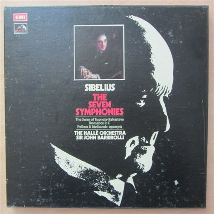 SIBELIUS Complete seven symphonies The Halle Orchestra John Barbirolli EMI