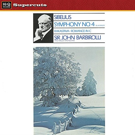 Jean Sibelius – Symphony No.4 in A minor, Op.63 The Hallé Orchestra Sir John Barbirolli EMI